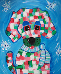 Kids' Class: Whimsy's Holiday Dog
